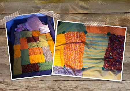 Kaffe Fassett fabric Quilt