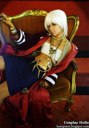 yu-gi-oh! cosplay - thief king bakura by ellebrat
