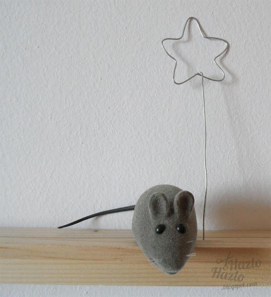 Varita mágica de alambre.