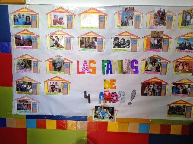 Colegio san agust n chiclana semana de la familia en for Mural una familia chicana