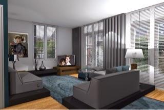 wijzigingen aangebracht aan de eerste 3d ontwerpen voor mijn klanten interieuradvies binnenhuisarchitect interieurarchitect bussum verlichtingsplan