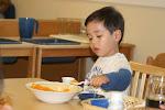 LePort Montessori Preschool Toddler Program Irvine San Marino - snack time