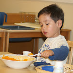LePort Montessori Preschool Toddler Program Irvine San Marino - snack time