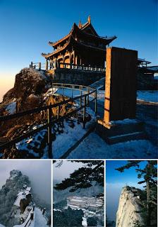 Фотографии буддийских храмов в горном Китае