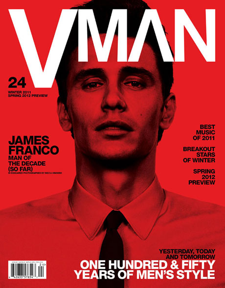 James Franco by Inez & Vinoodh for VMan #24, Fall 2011