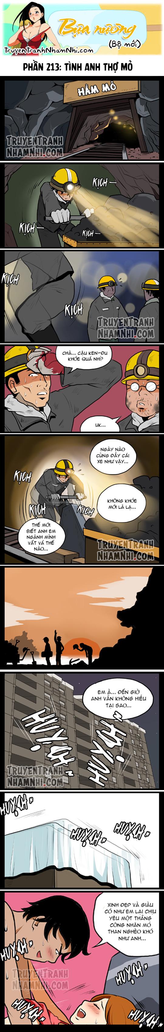 Bựa nương (bộ mới) phần 213: Tình anh thợ mỏ