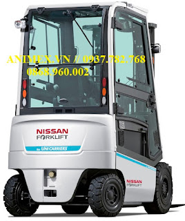 Nissan Unicarriers Battery Forklift Japan