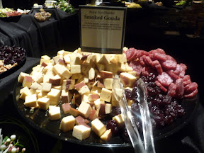 2013 Showcase of Wine and Cheese Boys and Girls Club Portland cheese buffet Royal Dutchlander Smoked Gouda
