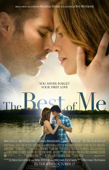 Poster Of English Movie The Best of Me (2014) Free Download Full New Hollywood Movie Watch Online At alldownloads4u.com