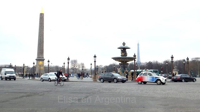 Place de la Concorde, Paris, Elisa N, Blog de Viajes Argentina, Lifestyle