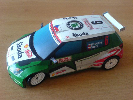 World Rally Cars and SUV Papercrafts