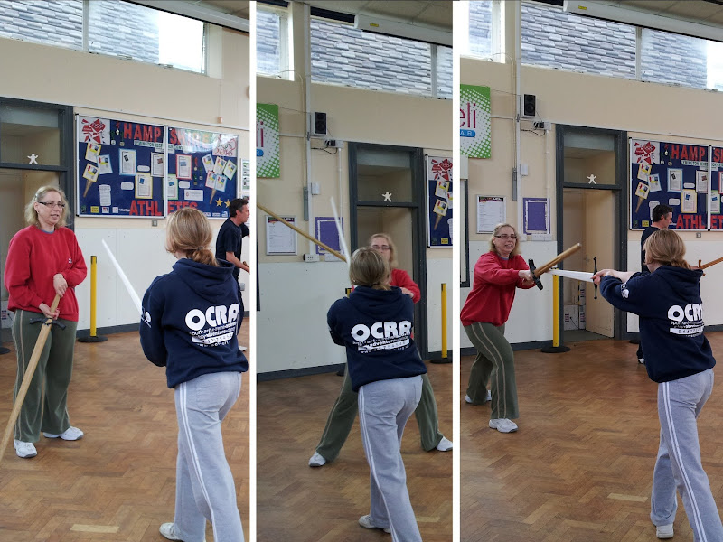 Rapier Fencing - Q and Mick