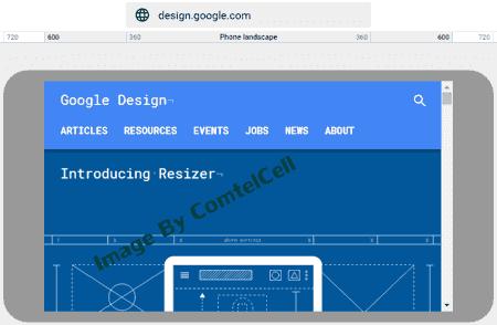 Resizer - Google Design, Responsive Tool