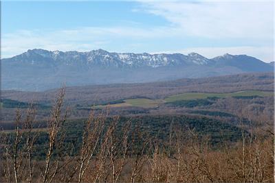 Sierra Cantabria desde el collado