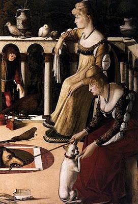 Vittore Carpaccio  -  Due dame veneziane