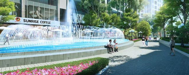 Cảnh đẹp tại dự án Sun Grand City Tây Hồ