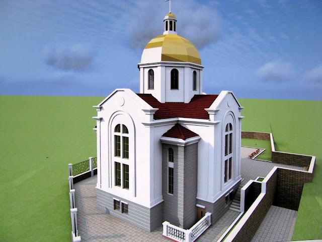 Проект храма УГКЦ в Севастополе