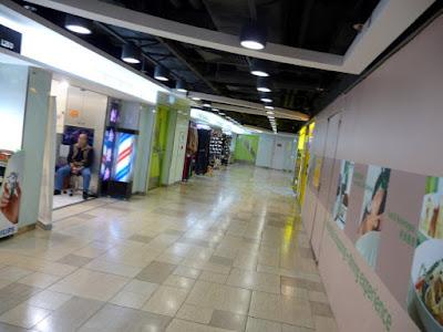 蝴蝶廣場的一條走廊