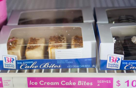 Baskin Robbins Cake Bites