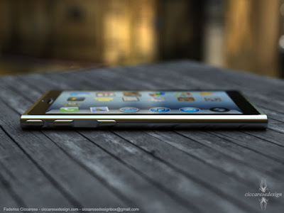 iPhone6 Concept Design ciccaresedesign