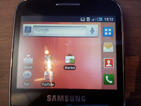 Samsung Galaxy Pro Screen