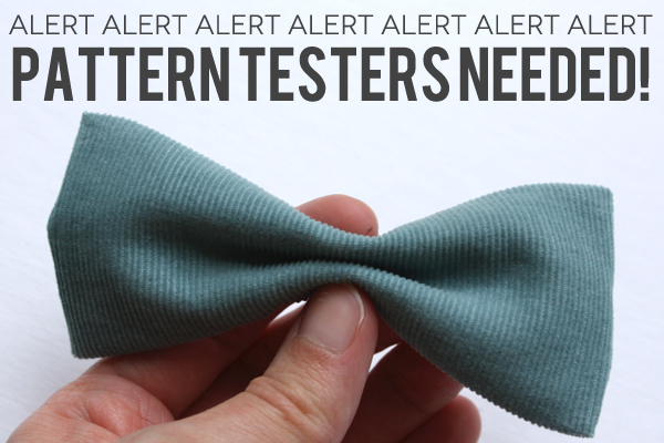 pattern testers needed