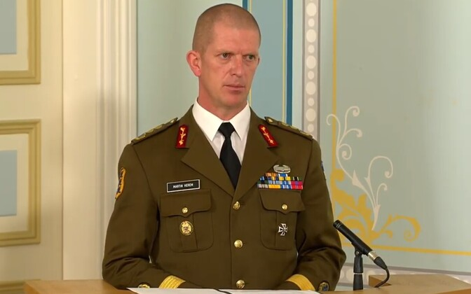 Командующий EDF генерал-майор Мартин Херем.