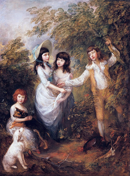 Thomas Gainsborough - The Marsham Children