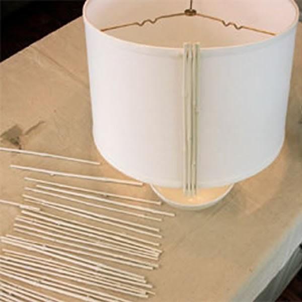 Luminária de bambu - passo 1