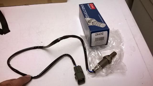 Mitsubishi Montero Gen 2.5 O2 Sensor Replacement ... on