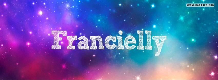 Capas para Facebook Francielly