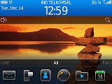 Blackberry OS Main Screen