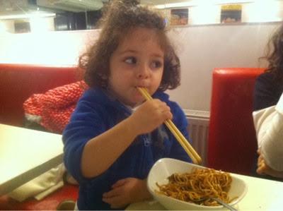 Çin yemeği severiz biz