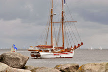 Kiel Week classic traditional schooner