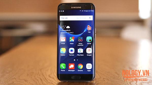 Xả hàng Samsung Galaxy S7 Edge cũ giá rẻ tại Nology