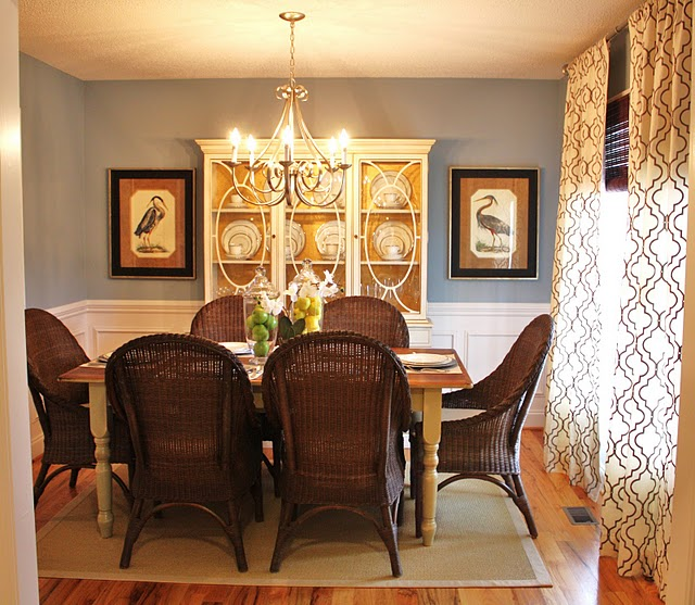 THE TELL ALLSBROOK: Our Dining Room Makeover: The Before And After