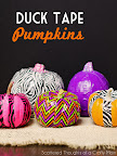 Duck Tape Pumpkins