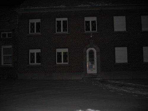 Het woonhuis van de boerderij.
