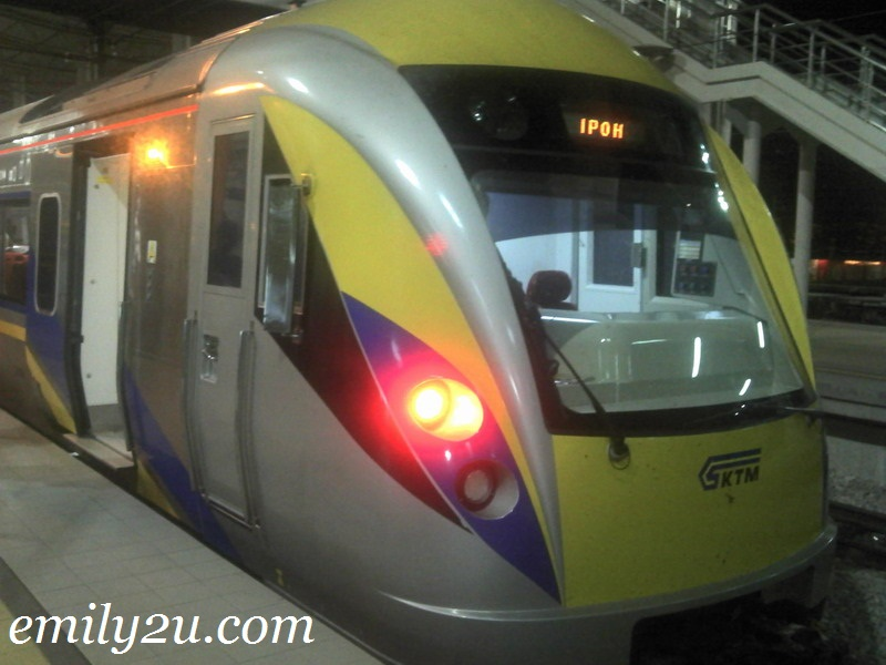 New Electric Train Service (ETS) Schedule: KL Sentral - Ipoh