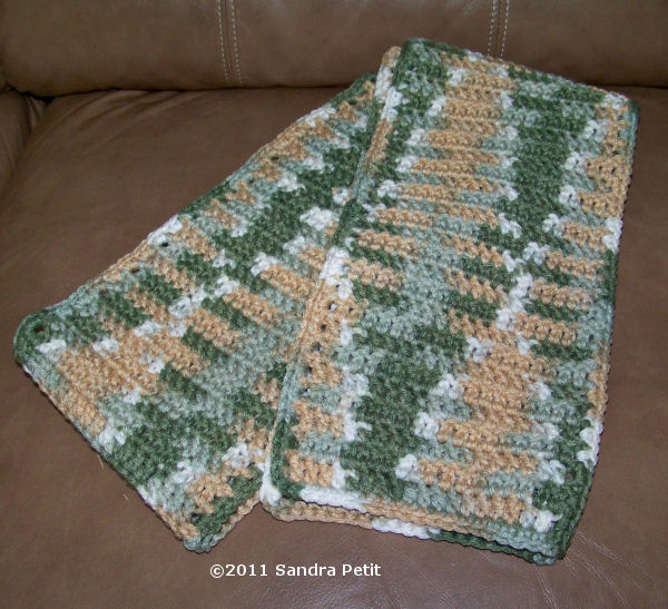 Crochet Patterns Variegated Yarn : The Crochet Cabana Blog: Flashing and Pooling