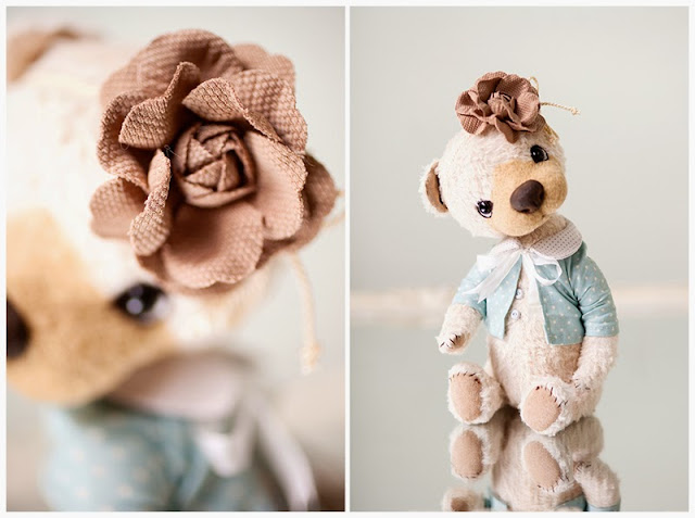 Soft Teddy Bear by Simona from Softly Bear Paw