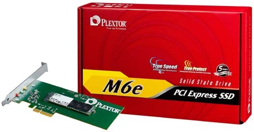 Plextor's New M6e PCI Express SSD