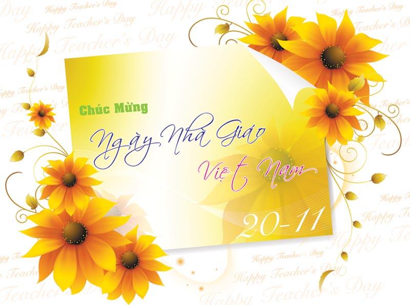 thiệp đẹp mừng ngày 20-11