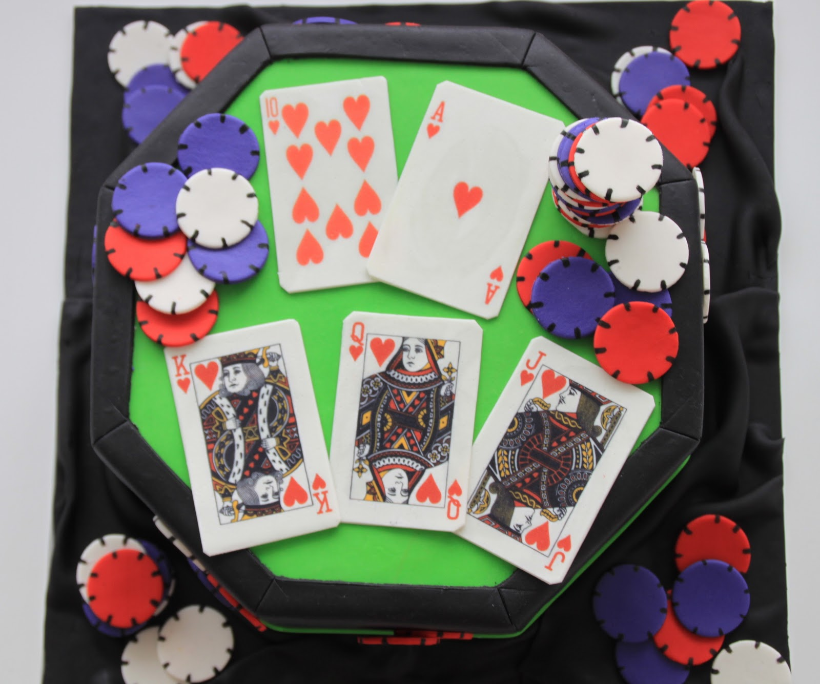 Celebrate With Cake Texas Hold Em Poker Cake