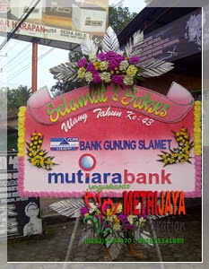 ucapan selamat dan sukses Mutiara Bank Yogyakarta