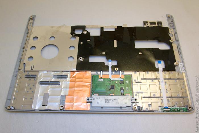Как разобрать ноутбук Dell Inspiron 1525 29