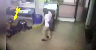 Criminoso salva polícia de morrer de ataque cardíaco