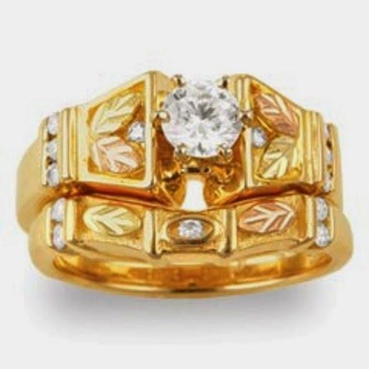 Black Hills Gold Wedding Rings Sets 6 Fresh