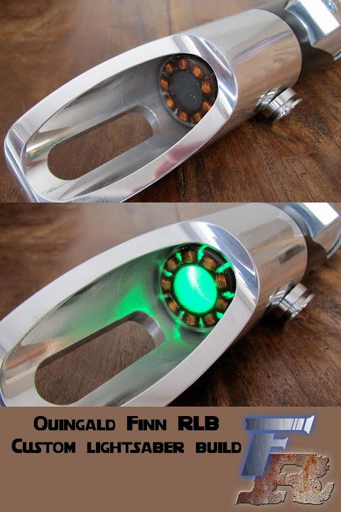 quingald finn s rlb lightsaber build saber modifications customs