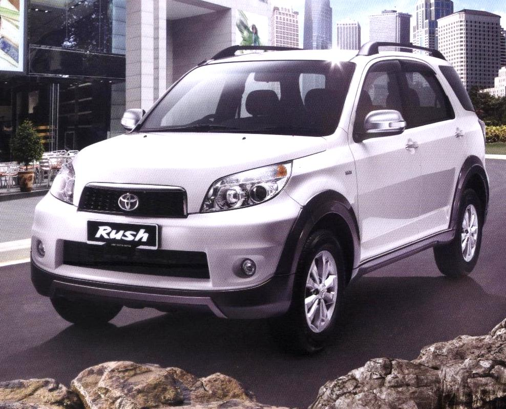 Specifications New Toyota Rush 2011